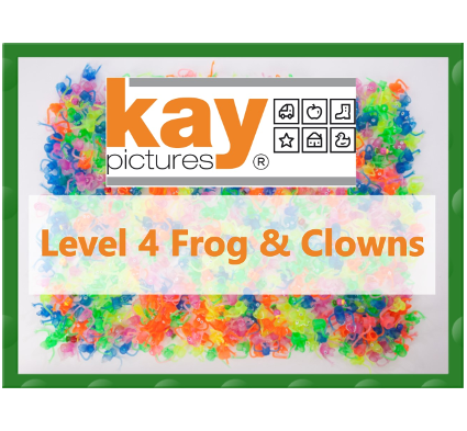 Fun Picture Search Level 4 Frog & Clowns