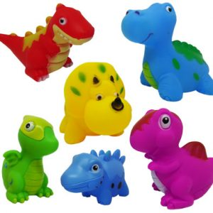 NEW! Squeaky Dinosaurs