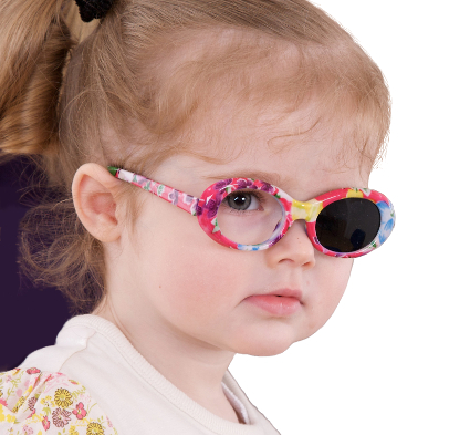 Kay Pictures Infant Occluding Glasses, uniocular vision testing