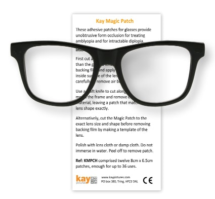 Kay Magic Patch, double vision eye patch