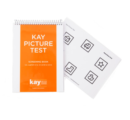 Kay Picture Test Screening Book, paediatric vision test