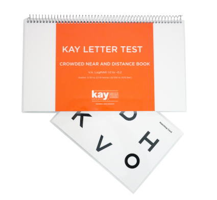 Kay Letter Test with ETDRS letters
