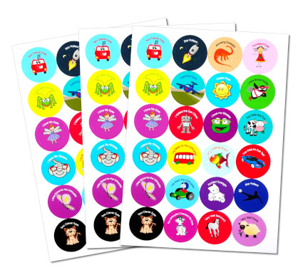 Orthoptist and Eye Stickers