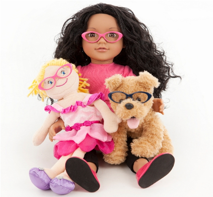 Toy Glasses, patching compliance, paediatric vision testing equipment