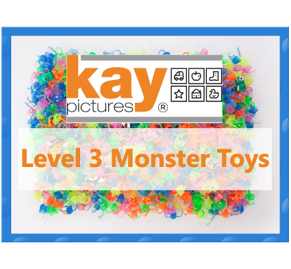 Fun Picture Search Level 3 Monster Toys