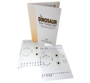 Dino Vision Therapy Cards