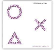 HRR Colour Vision Test Matching Card