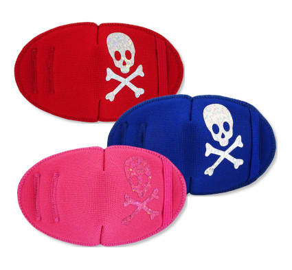 Sparkling Pirate Fun Patches orthoptic eye patches for children