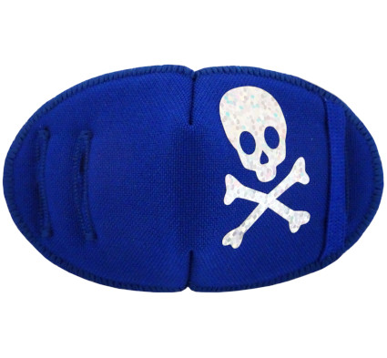 Pirate Sparkle Fun Patches Blue