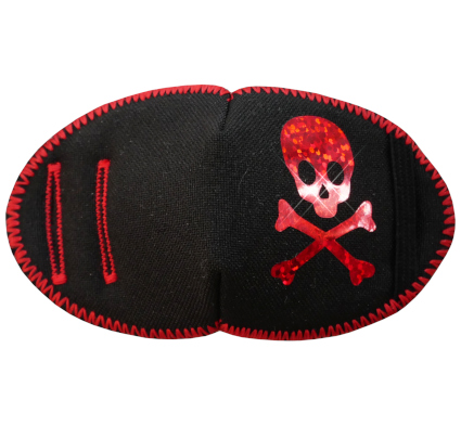 Pirate Fun Patch Red Sparkle