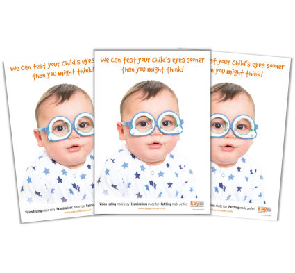 We can test your child's eyes