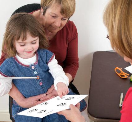 Testing Pre-School Children Visual Acuity